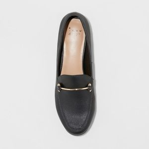 a new day Black Perry Slip On Loafers Women's 11M